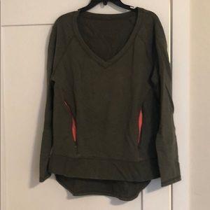 Lululemon v-neck pullover